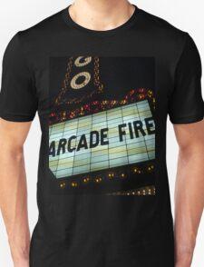 Arcade Fire Theater Unisex T-Shirt