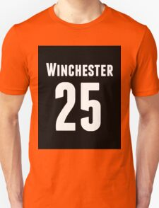Supernatural Winchester with number T-Shirt