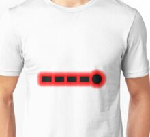Morse Code Number 9 Unisex T-Shirt
