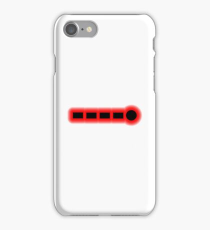 Morse Code Number 9 iPhone Case/Skin