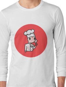 bloody chef Long Sleeve T-Shirt