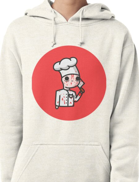 bloody chef Pullover Hoodie