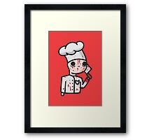 bloody chef Framed Print