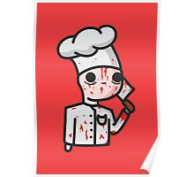 bloody chef Poster