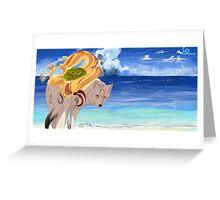 Ryoshima Coast Greeting Card