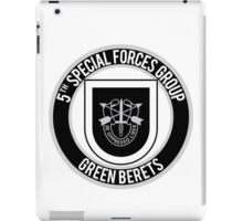 5th Special Forces iPad Case/Skin