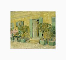 Vincent Van Gogh - Exterior Of A Restaurant In Asnieres. House landscape: city view, streets, building, little house, church, cityscape, architecture, construction, panorama garden, buildings Unisex T-Shirt