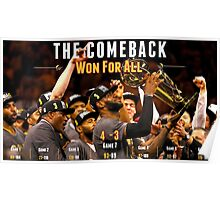 Cleveland Cavaliers The Comeback Poster