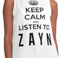 KEEP CALM - ZAYN Contrast Tank