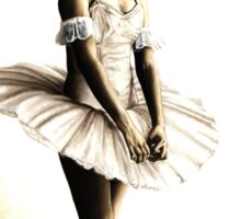 Dancer at Peace Sticker