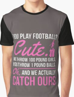 FOOTBAL CUTE Graphic T-Shirt