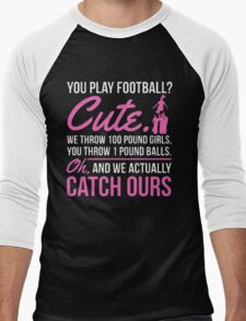FOOTBAL CUTE Men's Baseball ¾ T-Shirt