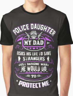 POLICE DAUGHTER Graphic T-Shirt