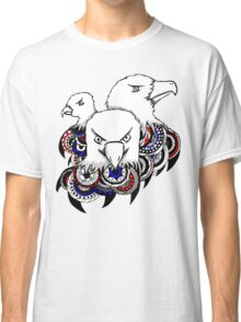 Mandala Bald Eagles Classic T-Shirt