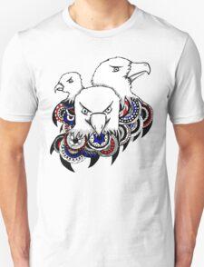 Mandala Bald Eagles Unisex T-Shirt
