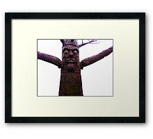 Tree-man, Tree Framed Print