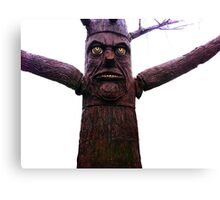 Tree-man, Tree Canvas Print