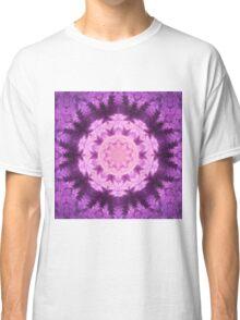 Purple Mandala - Abstract Fractal Artwork Classic T-Shirt