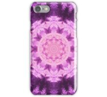 Purple Mandala - Abstract Fractal Artwork iPhone Case/Skin