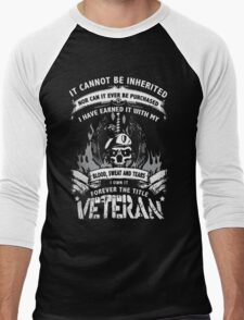 VETERAN Men's Baseball ¾ T-Shirt