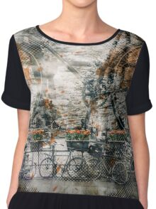 City-Art AMSTERDAM Bicycles  Chiffon Top