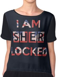 I Am Sherlocked Chiffon Top