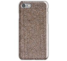 Aran Hand Knit 1 iPhone Case/Skin