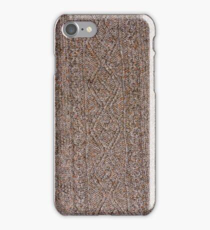 Aran Hand Knit 1 iPhone Case/Skin