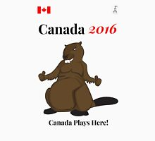Rio Olympics 2016 Team Canada shirts designed by Canadians. Cheer on our athletes with our T-Shirts, Apparel & Souvenirs – Cool 2016 Beaver T Shirt & Apparel Selection by Fun Girl Canada! Unisex T-Shirt