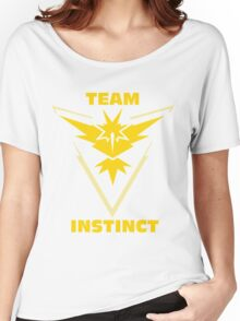 Pokemon Go | Team Instinct Women's Relaxed Fit T-Shirt