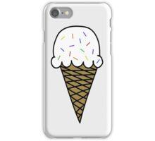 Vanilla Ice Cream Cone iPhone Case/Skin