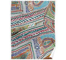 Oriental Fabric  Poster