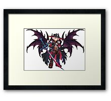 Demon Hunter Onice Framed Print