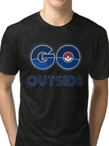 Pokemon Go Outside Tri-blend T-Shirt