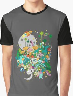 Imaginary Land Graphic T-Shirt