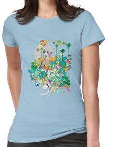 Imaginary Land Womens Fitted T-Shirt