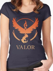 TEAM VALOR - POKEMON GO TSHIRT Women's Fitted Scoop T-Shirt