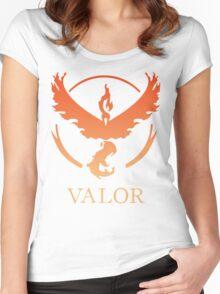 TEAM VALOR - POKEMON GO TSHIRT Women's Fitted Scoop T-Shirt