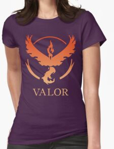 TEAM VALOR - POKEMON GO TSHIRT Womens Fitted T-Shirt