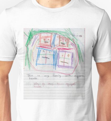 The Square Head Family Unisex T-Shirt