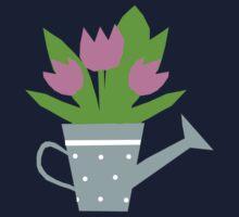 Tulips Tee, Throw Pillows, Tote Bag Kids Clothes