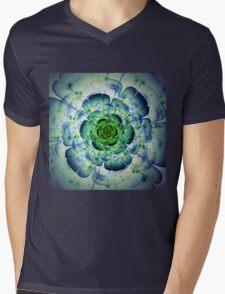 Flower - Abstract Fractal Artwork Mens V-Neck T-Shirt