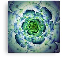 Flower - Abstract Fractal Artwork Canvas Print