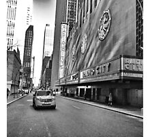 Radio City Music Hall Photographic Print