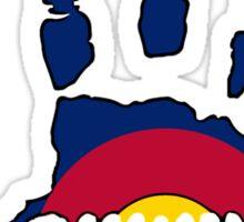 Colorado flag Jeep wave Sticker