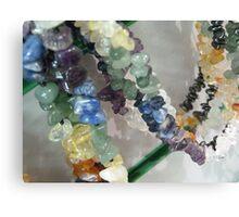 Precious Stone Necklaces Canvas Print