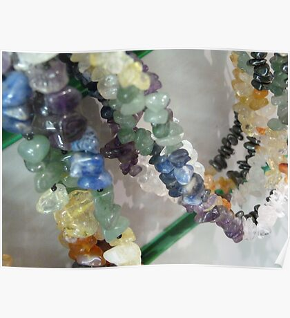 Precious Stone Necklaces Poster