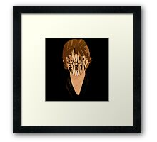 You What!? Framed Print