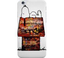 Snoopy in the Hood iPhone Case/Skin
