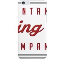 Montane Company 'Racing Oil' iPhone Case/Skin